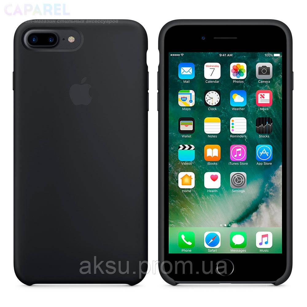 Защитный чехол Silicone Case High Copy iPhone 7 Plus/8 Plus Black