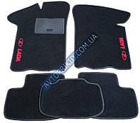 Текстильные коврики в салон ВАЗ 2109-099 5шт (CIAK, чёрный)