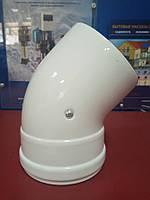 Колено коаксиального дымохода 45°, фото 1