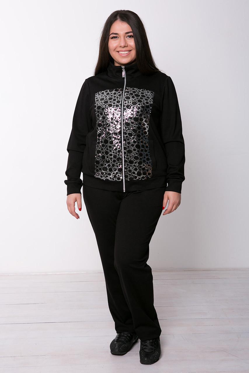 73b3a5e3bfd Спортивный костюм для полных женщин Эрби серебро - V Mode