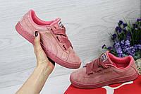 Женские кроссовки Puma Suede  (Реплика ААА+), фото 1