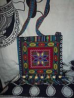 Сумка текстиль с вышивкой