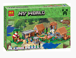 КОНСТРУКТОР BELA  10531 THE VILLAGE  ДЕРЕВНЯ (АНАЛОГ LEGO МАЙНКРАФТ, MINECRAFT 21128)