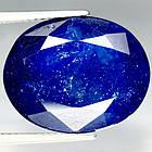 17,76 карат! Натуральный камень сини сапфир