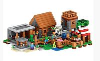 Качественный конструктор для детей Bela  10531 The Village  Деревня
