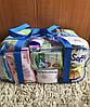 Набор из 3 прозрачных сумок в роддом сумка - S,L,XL - Красные, фото 8