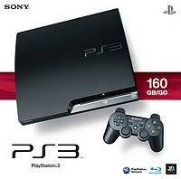 Игровая приставка Sony PlayStation 3 Slim (160 Gb) UA прошивка CFW 3.55 KMEW, фото 1