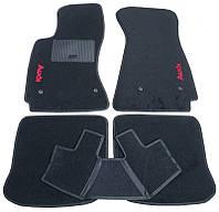 Текстильные коврики в салон Audi A4 (B5) 1994-2001, 5шт. (CIAK, черный)