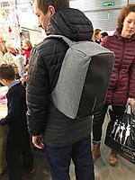 Рюкзак Bobby С защитой от краж серый