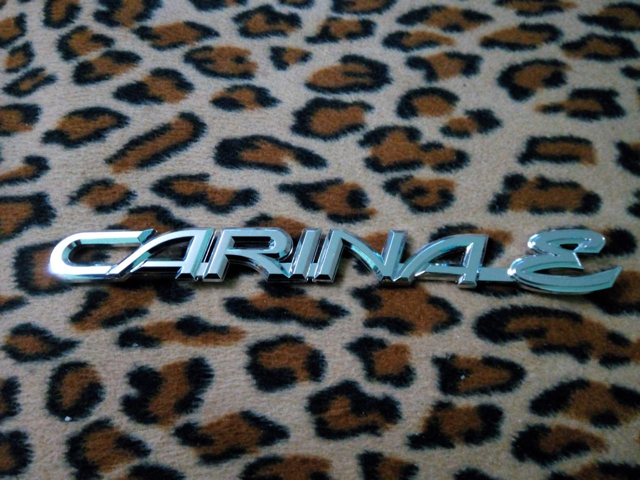 Надпись CARINA E  214х22 мм