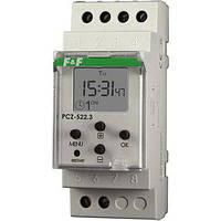 Реле времени программируемое PCZ-522.3 двухканальное с NFC (РЧ-522) F&F