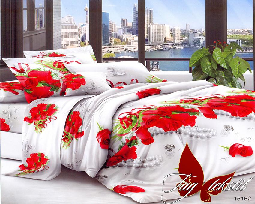 Комплект постельного белья XHY15162 полуторный (TAGpolicotton (1,5-sp)-455)