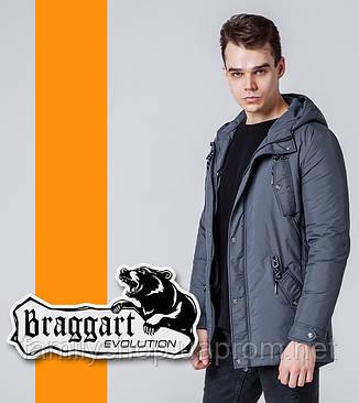 Braggart Evolution 1342 | Мужская ветровка серая, фото 2