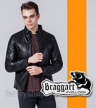 Braggart Evolution 1706 | Мужская ветровка черная, фото 2