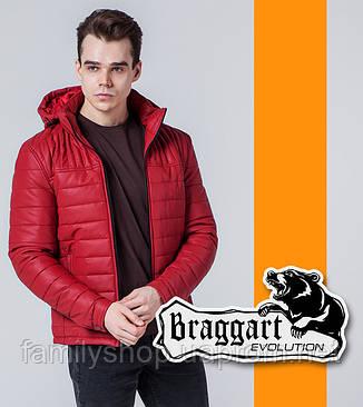 Braggart Evolution 7024 | Мужская ветровка красная, фото 2