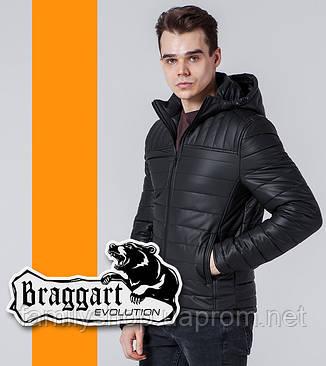 Braggart Evolution 7024 | Мужская ветровка черный, фото 2