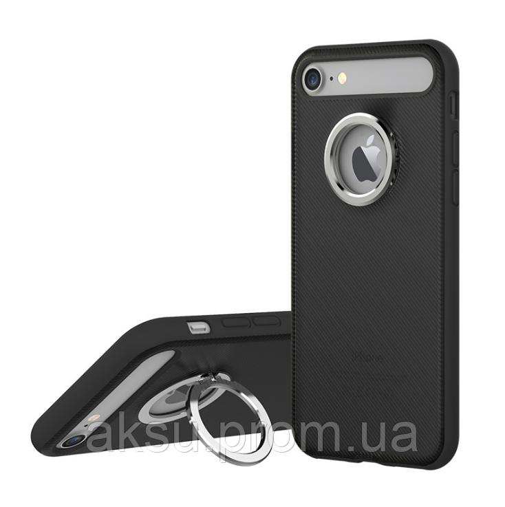 Чехол Ring Holder Case M2 for iPhone 7Plus/8Plus Black