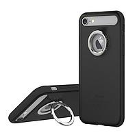 Чехол Ring Holder Case M2 for iPhone 7Plus/8Plus Black, фото 1