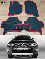 Коврики ЕВА в салон Mitsubishi Pajero Sport '08-16