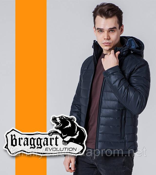 Braggart Evolution 7024 | Мужская ветровка темно-синяя