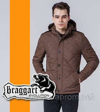 Braggart Evolution 1268 | Мужская ветровка коричневая, фото 2