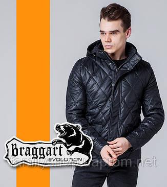 Braggart Evolution 1489 | Мужская ветровка черная, фото 2