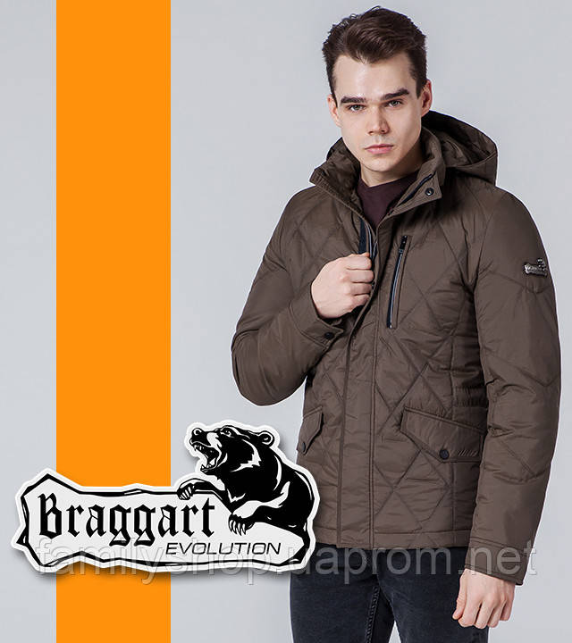 Braggart Evolution 1462   Мужская ветровка коричневая