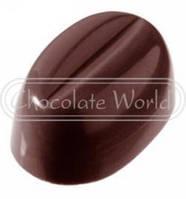 "1327 Форма для шоколада ""Кофейные зерна"" Chocolate World (36x24x16 мм)"