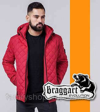 Braggart Evolution 1358 | Мужская ветровка красная, фото 2