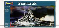 """Пластиковая сборная модель корабля  """" Bismarck """" Revell ( RV05802 )"""
