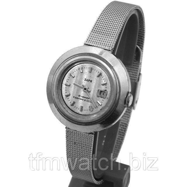"""""""Заря"""" часы с автоподзаводом (не нужно руками ежедневно заводить)"""