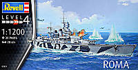 "Пластиковая сборная модель корабля  "" RN Roma "" Revell ( RV05821 80-5821 )"