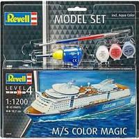 """Пластиковая сборная модель корабля  """"  M / S Color Magic """" Revell ( RV65818 80-5818 )"""