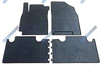 Резиновые коврики в салон Geely Emgrand X7 2011->, 4шт. (Stingray)