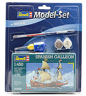 "Пластиковая сборная модель корабля  "" Spanish Galleon "" Revell ( RV65899 )"