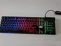USB клавиатура с подсветкой LED