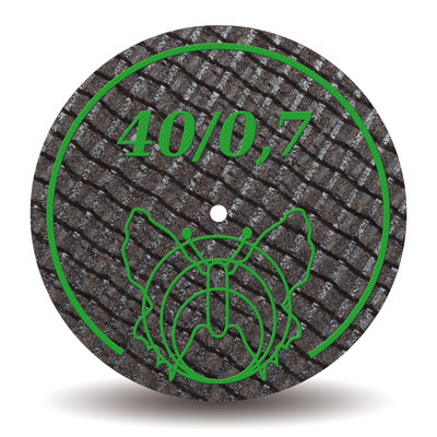 Отрезные диски армированные стекловолокном 40х0,7 мм (Motyl, Мотыль, Бабочка) NaviStom
