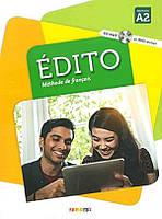 Edito A2 Livre eleve + CD mp3 + DVD