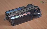 Косметичка прозрачная Glory Cases #4 23*13*6см Черная