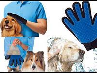 Перчатка для ухода за шерстью животных Pet Brush Glove