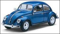 Моделька kinsmart volkswagen classical beetle 1967
