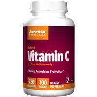 Буферизованный витамин C, Jarrow Formulas,  биофлавоноиды, 750 мг, 100 таблеток