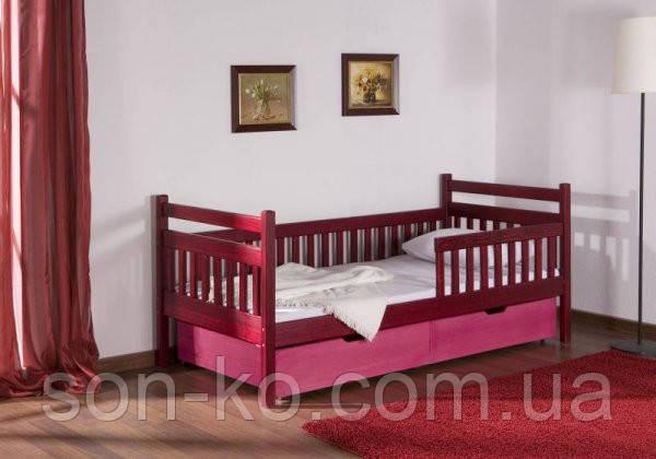 Ліжко дитяче букове Аліса