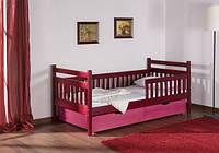 Ліжко односпальне букове Аліса