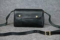 Компактная кожаная сумка Kiki | Черный Краст