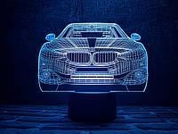 """Сменная пластина для 3D светильников """"Автомобиль 10 """" 3DTOYSLAMP, фото 1"""