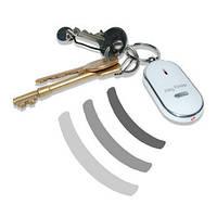 Брелок с фонариком для поиска ключей на звук свист Key Finder