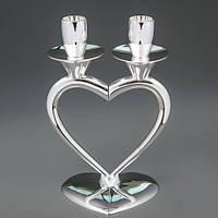 Свадебный подсвечник Сердце