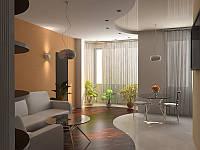 """Дизайн и визуализация 1-комнатных квартир студийного типа в ЖК """"Фаворит"""" в Одессе"""