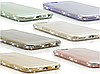 Силиконовые чехлы с камнями Сваровски для Iphone 6 6S
